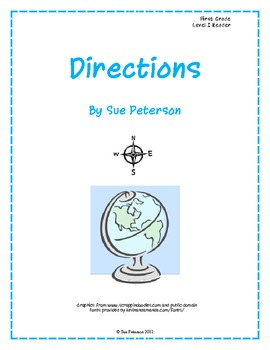 Directions - First Grade Level I Reader