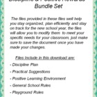 Discipline & Positive Rewards - Bundled Set