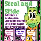 Discounted Bundle Steal and Slide Test Prep Addition and S