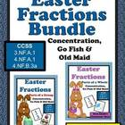 Discounted Bundle of Easter Fractions Concentration Go Fis
