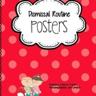 Dismissal Routine Posters (with Pictures)