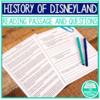 Disneyland Reading Passage and Questions