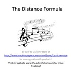 Distance Formula Song