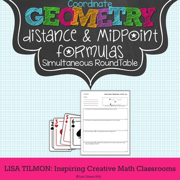 Distance and Midpoint on the Coordinate Plane Activity