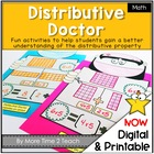 Distributive Doctor Activities {distributive property of m