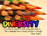 Diversity Wall Poster