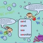 Diving into ABC Order SMART board lesson (CC L.2.2e, L.2.4