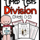 Division 1-12 Timed Tests (1 Minute)