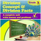 Division Concept & Division Facts - grade 3, common core
