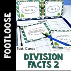 Division Facts Footloose 2