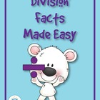 Division Facts Made Easy Comprehensive Teaching Unit w/ Games CD