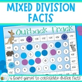 Division Games - mixed division facts practice