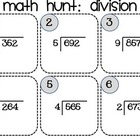 Division Hunt 3 digit-dividends