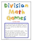 Division Math Games