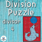 Division Puzzle Covers Divisor 4 • Common Core Standards