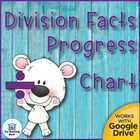 Division Student Progress Chart and timed tests divisors 1-12