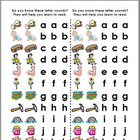 Do You Know These Letter Sounds? (follow along pages)