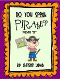 "Do You Speak Pirate? {Teaching ""ar""}"