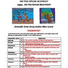 Do You Speak Weather? Vocabulary Builder, Pre-test Review,