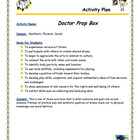 Doctor Prop Box Activity Plan
