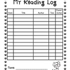 Dog Theme Reading Log