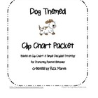 Dog Themed Clip Chart Behavior Packet