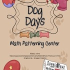 Dog Themed Math Center {Patterns}