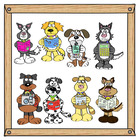 Dog breeds (Clip Art)