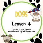 Dogs Supplementals for Storytown 2nd Grade Lesson 4
