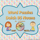 Dolch Nouns Picture Puzzles word work, activities, printab