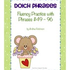 Dolch Phrases Fluency Practice #49 - 96
