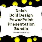 Dolch PowerPoint Presentation Bundle~Bold Design