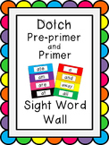 Dolch Pre-Primer-3rd Grade Word Wall Bundle