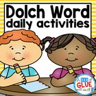 Dolch Sight Word Activities (for all 220 words)