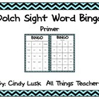 Dolch Sight Word Bingo:Primer List