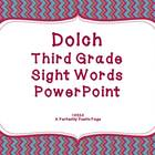 Dolch Third Grade Sight Word PowerPoint