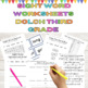 Dolch Third  grade 8 Weeks of Sight Word Work