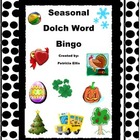 Dolch word Seasonal Bingo Game