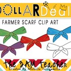 Dollar Deal Clip Art: 5 Farmer Scarves