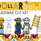 Dollar Deal Clip Art: Handyman Mini
