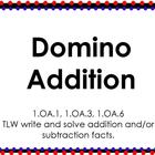 Domino Addition {ACTIVboard}