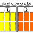 Domino Parking Lot Math Center