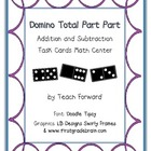 Domino Total Part Part Diagram Math Center