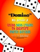 &quot;Domino&quot; by Jessie J Figurative Language Poetic Devices Activity