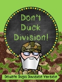 Division Review Game - Don't Duck - Long Division Style