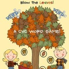 Don't Let The Wind Blow The Leaves!  CVC Words Game!  FUNd