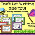 Don't Let Writing Bug You! (Writing Process Posters)