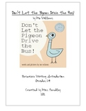 Don't Let the Pigeon Drive the Bus Persuasive Writing