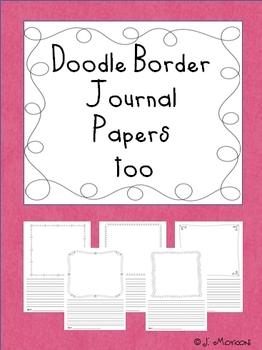 Doodle Border Journal Papers Too