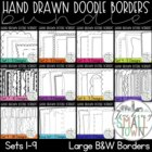 Doodle Frames Bundle- 140 Frames